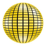 3d球迪斯科镜子mirrorball当事人 免版税库存照片