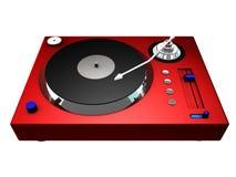 3d电唱机 向量例证