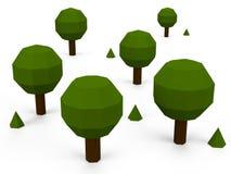 3D结构树 免版税库存图片