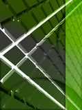3d绿色格式 免版税库存照片