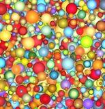 3d背景泡影浮动光滑 免版税图库摄影