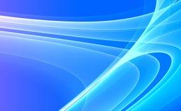 3d背景蓝色 向量例证
