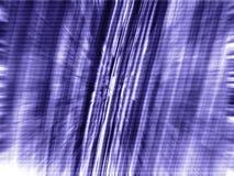 3d蓝色迷离黑暗的矩阵缩放 图库摄影