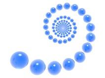 3d螺旋 向量例证