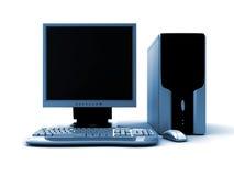 3d计算机 免版税库存图片