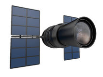 3d遥远的星系研究空间望远镜 免版税库存图片