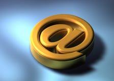 3d邮件 库存例证