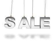3d销售额字母表概念 库存图片