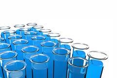 3D übertragen Reagenzglas Stockfotografie