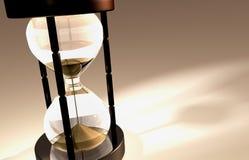 3D übertragen vom Hourglass Lizenzfreies Stockbild