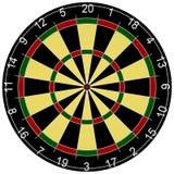 3d übertragen von einem Dartboard stock abbildung