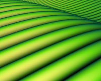 3d übertragen von einer grünen schrägen Landschaft Lizenzfreies Stockfoto