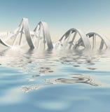 3D übertrug Bild Lizenzfreie Stockbilder