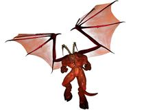 3D übertrug Dämon Stockfotos