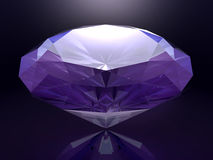 3D übertrug Diamanten Stockfoto
