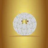 3D łamigłówki tło Royalty Ilustracja