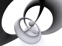 3d абстрактные охлаждают Стоковые Изображения RF