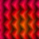 3d кладет красный цвет в коробку Стоковая Фотография
