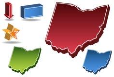 3d Огайо бесплатная иллюстрация