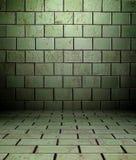 3d опорожняют нутряную стену плиток текстуры Стоковое Изображение