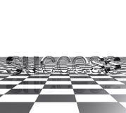 3d помечает буквами успех Стоковое Изображение RF
