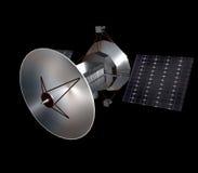 3d представило спутник Стоковое Изображение