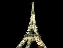 3d сделало модельную башню Стоковое фото RF