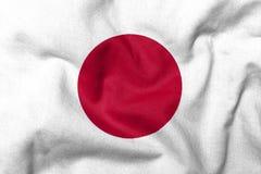 3d флаг япония Стоковые Фото