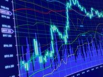 3d背景绘制股票 免版税库存图片