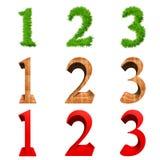 3d字体高查出的解决方法 免版税库存图片