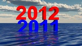3d 2012 royalty-vrije illustratie