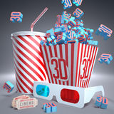 3D stock illustration