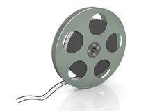 3d 36mm movie reel. 3d render of 36mm film movie reel Stock Images