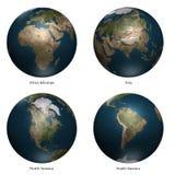 3d aarde Stock Afbeeldingen