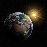 3D Aarde Royalty-vrije Stock Fotografie
