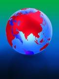 3d aarde Stock Foto