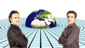 3d aarde (Europa) Stock Afbeelding