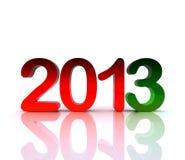 3d Abbildung - 2013 Stockfoto