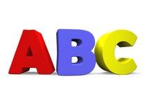 3D ABC Stock Foto's