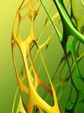3d abracst bionische achtergrond Stock Illustratie