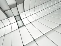 3d abstract architectural background. An abstract 3d architectural design Royalty Free Stock Image