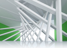 3d abstract architecture background room Interior Stock Images