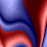 3d abstract background. Of blue and red parts Stock Photos