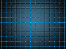 3d abstract background. Smoothed plates royalty free illustration