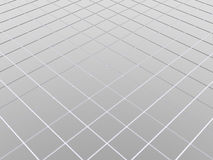 3d abstract background. Metal floor vector illustration