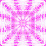 3d abstract background. In pink. Located away from the center Stock Images