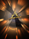 3D Abstract Background. Sub Fusion Royalty Free Stock Photo