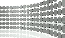 3d abstract design circles. Background Stock Image