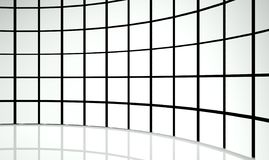 3d abstract design squares. Background Royalty Free Stock Images