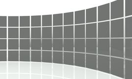 3d abstract design squares Stock Image